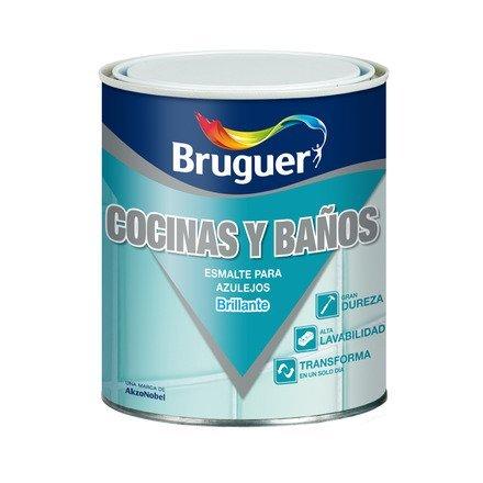 Esmalte Azulejos Bruguer 750 Ml. Azul Pacifico