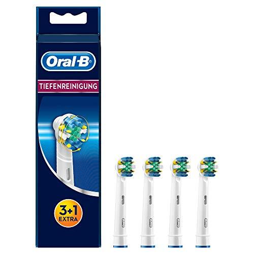 Oral-B Tiefenreinigung Aufsteckbürsten, 3+1 Stück