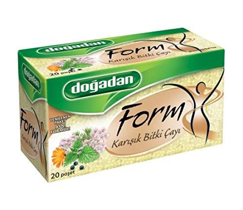 Dogadan Form - Gemischter Kräutertee 20 Teebeutel (3er Pack)