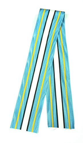 SMK US Army ROTC JROTC Gold Instructor Medal Ribbon, 12 inches (1 Foot)