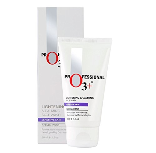 O3+ Lightening & Calming Facewash for Sensitive Skin, 50g