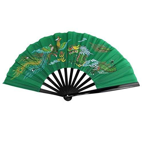 DerShogun Fächer aus Bambus Grün