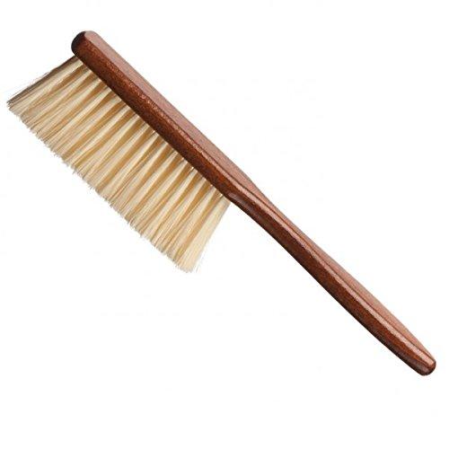 Eurostil - Cepillo cuello barbero mango madera