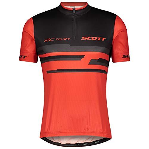 Scott RC Team 20 Fahrrad Trikot kurz rot/schwarz 2021: Größe: L (50/52)