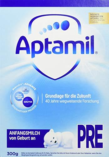 Aptamil Pronutra-ADVANCE Pre, 300g Einzelpackung, Anfangsmilch zum Zufüttern nach dem Stillen oder als alleinige Nahrung, mit besonderer Nährstoffkombination