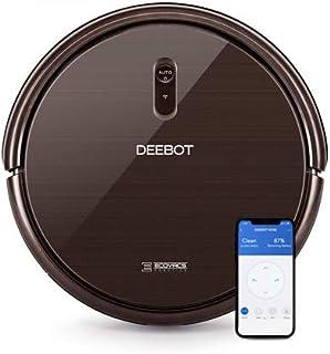 ECOVACS DEEBOT N79S – Aspirateur robot pour sols durs, tapis et moquettes minces – Aspirateur sans fil programmable via sm...