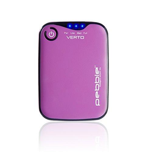 Veho Pebble Verto Chargeur Portable pour Smartphone/Lecteur MP3/Appareil chargé USB Rose