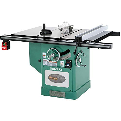"powerful Grizzly Industrial G0697X – Extreme Series Table Saw, 3-Phase, 12 "", 7-1 / 2 HP"