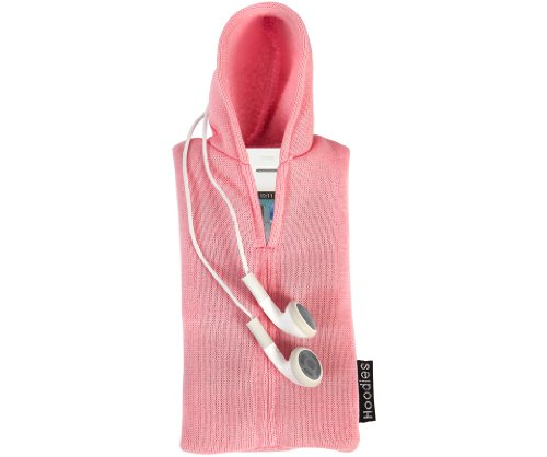 Slam Design Hoodies capuchon-shirt beschermhoes voor Apple iPhone/iPod, roze