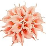 Xiuer, bouquet da sposa in lataex, 20 pezzi, fiore artificiale, decorazione per la casa e ...