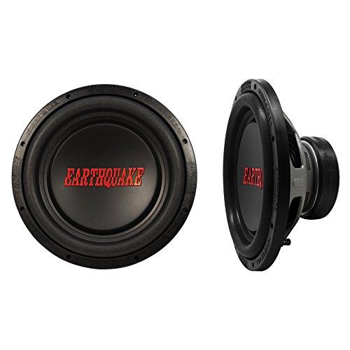 Earthquake Sound TREMOR-X124 Tremor-X Series Single 4 Ohm 1250 Watt 12' Car Audio Stereo Subwoofer (pair)