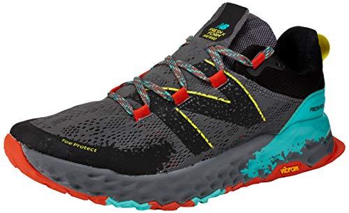 New Balance Herren Hierro V5 Fresh Foam Trailrunning-Schuhe, Führung/Gefechtspool, 41 EU