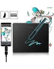 HUION Grafisch Tablet HS64, HS610, Q11K V2, WH1409