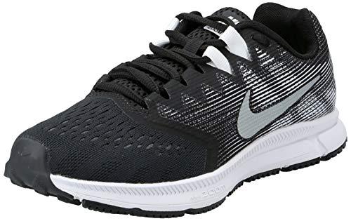 Nike Women's Zoom Span 2 Black/Metallic/Silver Running Shoe 6.5 Women US