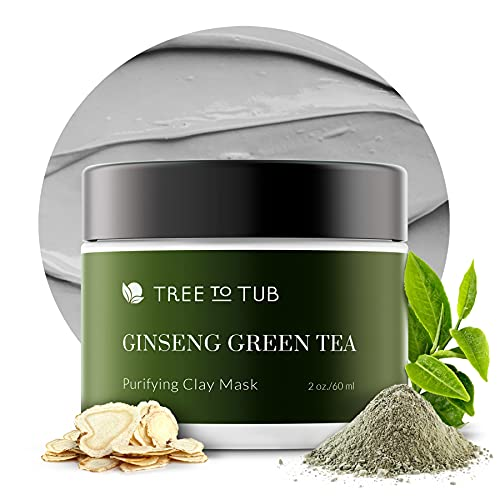 Activated Clay Face Masks for Women by Tree to Tub