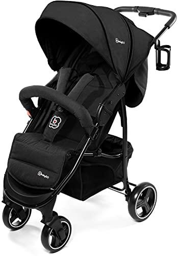 babyGO Basket Kinderwagen - Buggy - Kombikinderwagen - Einfaches zusammenklappen - mit Praktischer...
