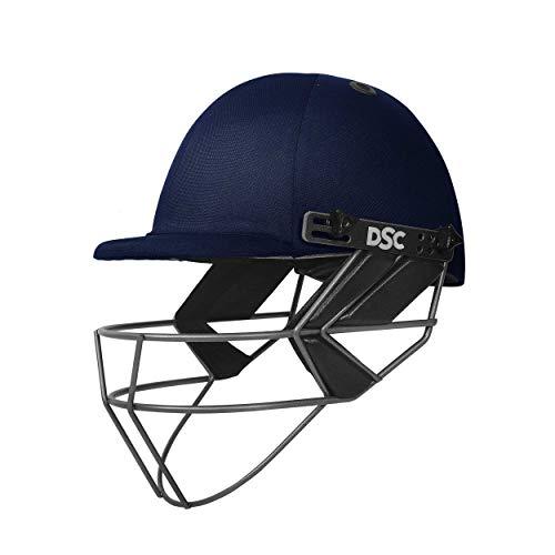 DSC Herren Fort 44 LITE Titanium Cricket-Helm, Marineblau, X-Large