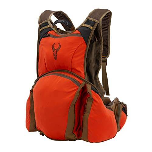 Badlands Upland Hunting Vest with Game Bag – Hydration Compatible, Blaze