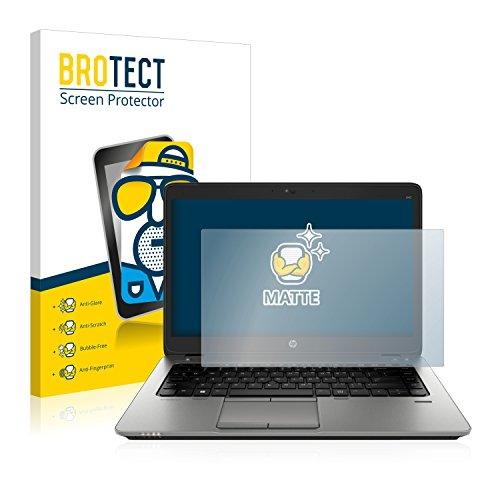 BROTECT Entspiegelungs-Schutzfolie kompatibel mit HP EliteBook 840 G2 Bildschirmschutz-Folie Matt, Anti-Reflex, Anti-Fingerprint
