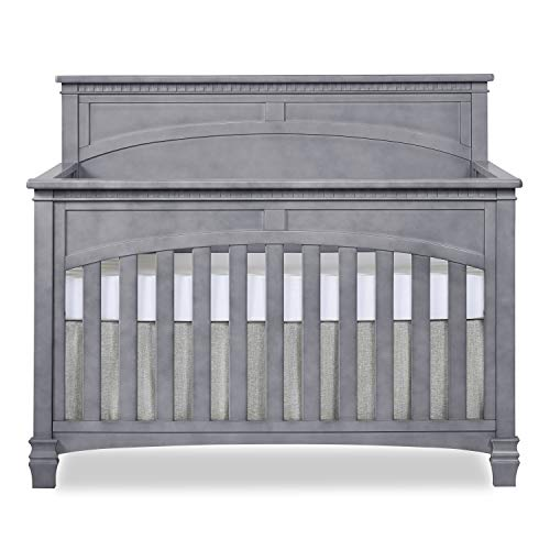 Evolur Santa Fe 5in1 Convertible Crib Storm Grey
