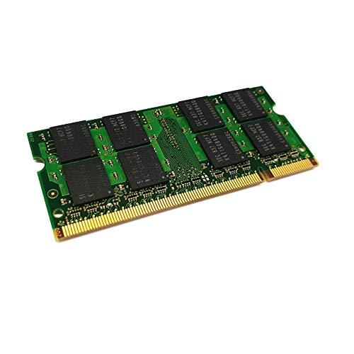 dekoelektropunktde 2GB Ram Speicher, Alternative Komponente, passend für ASUS Eee PC 1001P, 1001-P, 1101-HA, Top PC ET2002T | DDR2 SODIMM PC2 Arbeitsspeicher