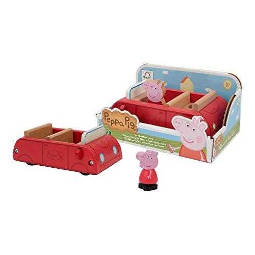 Giochi Preziosi Peppa Pig Auto legno C/1 Personaggio, PPC63000