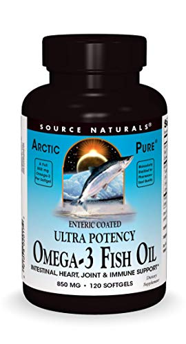 Source Naturals ArcticPure Enteric-Coated Ultra-Potency 850 mg Omega-3...