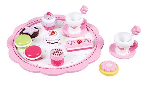 Lelin Toys - 30629 - Jeu D'imitation - Cuisine - Lelin Toys - Plateau Fleur - Collation