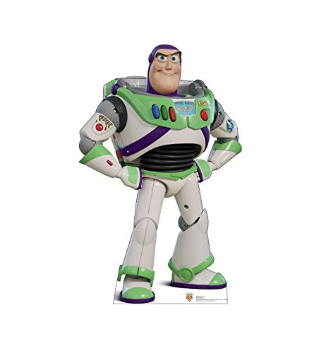 Advanced Graphics Buzz Lightyear Life Size Cardboard Cutout Standup - Disney Pixar Toy Story 4 (2019 Film)