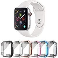 6-Pack Slyen Apple Watch Case with Ultra-Thin Screen Protector