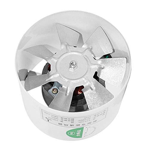 prasku Ventilador de Ventilación de Escape de 4'Ventilador de Conducto en Línea Ventilación de Tienda de Cultivo Hidropónico