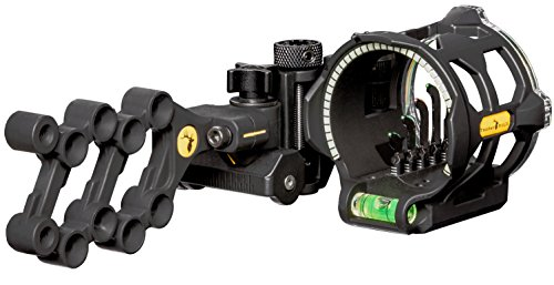 Trophy Ridge Peak 5 Pin Bow Sight (Left Hand) Black, One Size