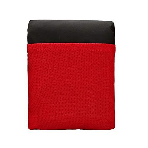 Newin Star 70 * 110 cm Rouge Portable Tapis Picninc Taille De La Couverture De Camping Couverture De Sable Étanche Plage De Couverture Tapis Léger Tente Pelouse Pique-Nique Couverture