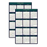 House of Doolittle 2021-2022 Four Seasons Wall Calendar, Reversible, 24 x 37 Inches