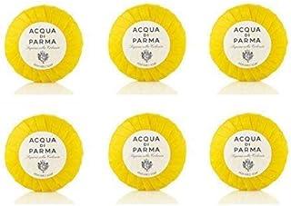 Acqua di Parma Colonia Pleat Wrap 50 Gram Bath Soaps - Set of 6