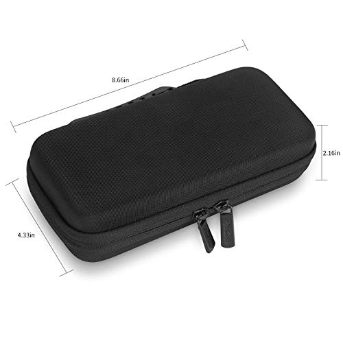 ProCase Hard EVA Case for Texas Instruments Ti-84 Plus CE, Durable Travel Storage Carrying Box Protective Bag for Ti-84 Ti-83 Ti-85 Ti-89 Ti-82 Plus/C CE Graphing Calculator and More –Black Photo #3