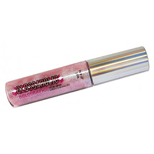 Hard Candy Glossaholic Holographic 3D Lip Gloss #836 Hint of Pink by Hard Candy