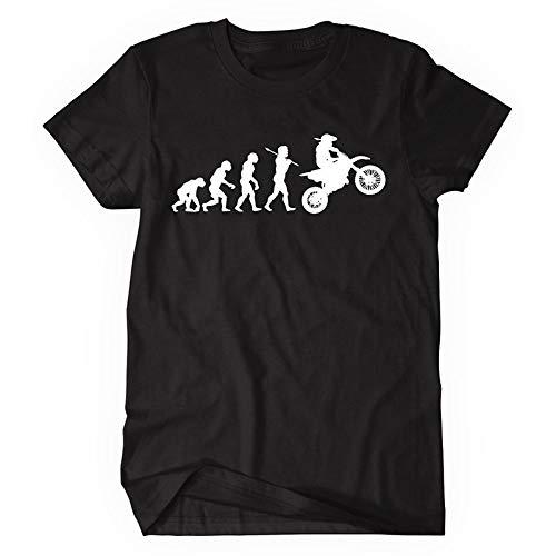 Evolution Superbike MOTOR BIKE Xmas regalo di compleanno idea ragazzi ragazze bambini T SHIRT