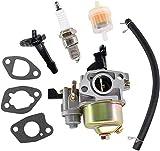 Reparación de carburador de repuesto compatible con Einhell Royal RPM 51 S/Bg-Pm 46 S/Gh-Pm 46/1 S Cortacésped Carburador Piezas y accesorios