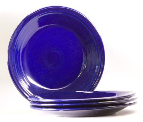 Fiesta 10-1/2-Inch Dinner Plate, Cobalt, Set of 4