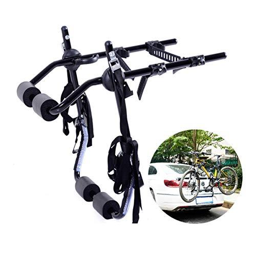 Fahrradträger Für Auto-Fahrrad-Stand 2-Bike Trunk Berg Bike Racks Für Die Meisten Limousine SUV Schrägheck-