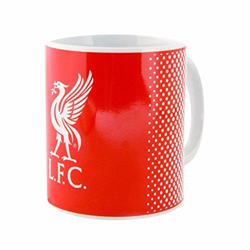 Liverpool FC Official - Taza de cerámica con escudo y diseño degradado