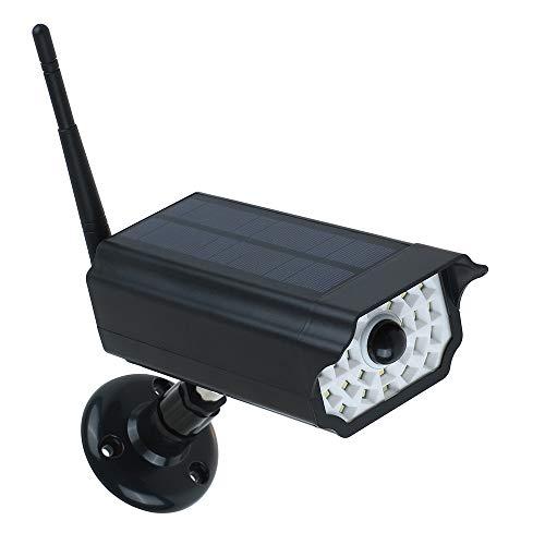30led Luz Solar Sensor de Movimiento Imitación de la Lámpara de Monitoreo al aire libre Hogar Jardín Vigilancia Seguridad Patio Lámpara con Cámara