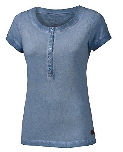 WLD neklab t-Shirt pour Femme Medium Gris - Light Grey Blue