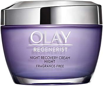 3-Count Olay Regenerist Fragrance-Free Night Recovery Cream, 1.7 oz