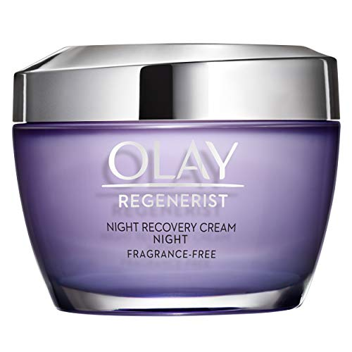 Night Cream by Olay Regenerist Night Recovery Cream & Face Moisturizer, 1.7 Ounce