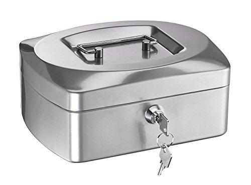 Alco caja de caudales de plata de metal 890 G B205xH85xT160 mm