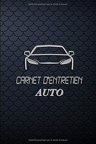carnet d'entretien auto: véhicule |  22,86 x 15,24 cm 100 pages | pages préfabriquées pour un suivi des entretiens auto • adapté à l'ensemble des constructeurs