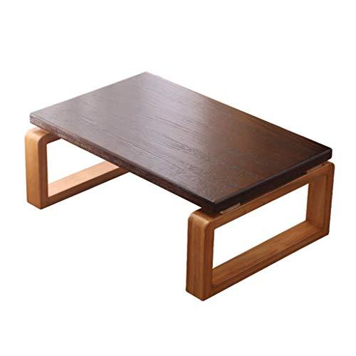 Tables basses Meubles Petite Table Salon Solide Chambre Bois for Enfants Lit Table d'ordinateur, roulement de Charge élevée Tables (Color : Wood, Size : 70 * 45 * 30cm)