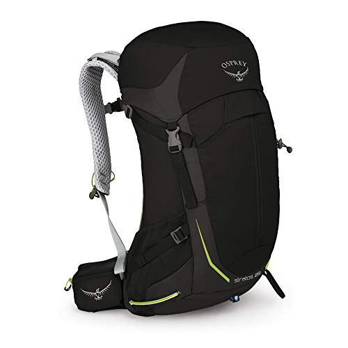 Osprey Stratos 26 Ventilated Hiking Pack - Homme, Noir, O/S